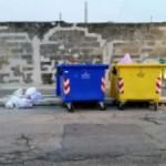 Contenitore indifferenziata in Via San Francesco alla Rena