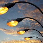 Lampioni spenti in Via Mascagni
