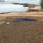 Segnalazione ingombranti spiaggetta San Cataldo