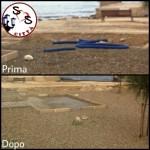 AGGIORNAMENTO ingombranti sulla spiaggetta di San Cataldo