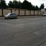 Attraversamento pedonale in Via Falcone e Borsellino