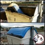 AGGIORNAMENTO contenitore rotto in Via Mascagni