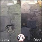 AGGIORNAMENTO buca Via Caprera, 2-4