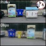 AGGIORNAMENTO contenitori in Via Napoli