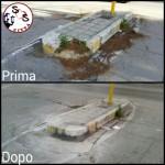 AGGIORNAMENTO marciapiede Via Amendola