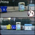 AGGIORNAMENTO contenitore plastica in Via Napoli