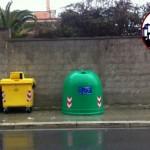 AGGIORNAMENTO posizionata campana di vetro in Via Adriatico