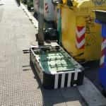 I mobili per strada!