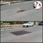 AGGIORNAMENTO interventi di manutenzione stradale