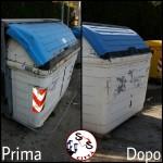 AGGIORNAMENTO contenitore rotto via Lorenzo Perosi