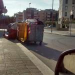 Ingombranti in via Col. Nicola Picca a Palese