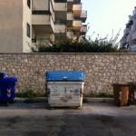 Collocare contenitori in via Tripoli