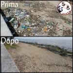 La costa di San Girolamo è stata ripulita