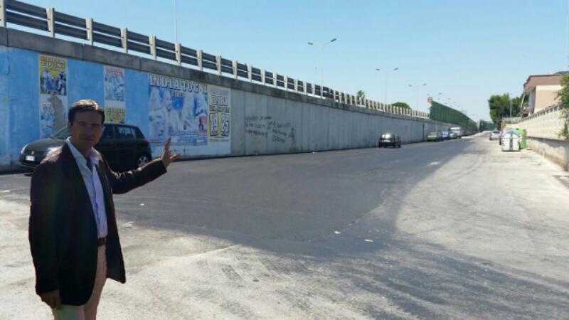 In via Napoli 369 esiste la pavimentazione stradale!