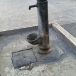 Nemmeno le fontane funzionano