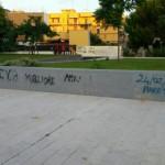 Ripuliamo i muri del giardino Triggiani