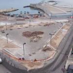 Lavori per il waterfront di San Girolamo fermi da una settimana: è tutta una farsa?