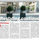 Restyling in via Argiro