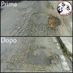 Pericolo rimosso in via Leoncavallo