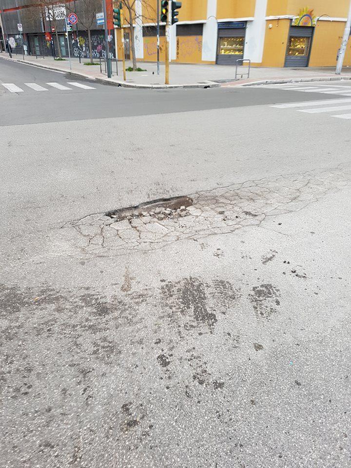 Buca in via Capruzzi