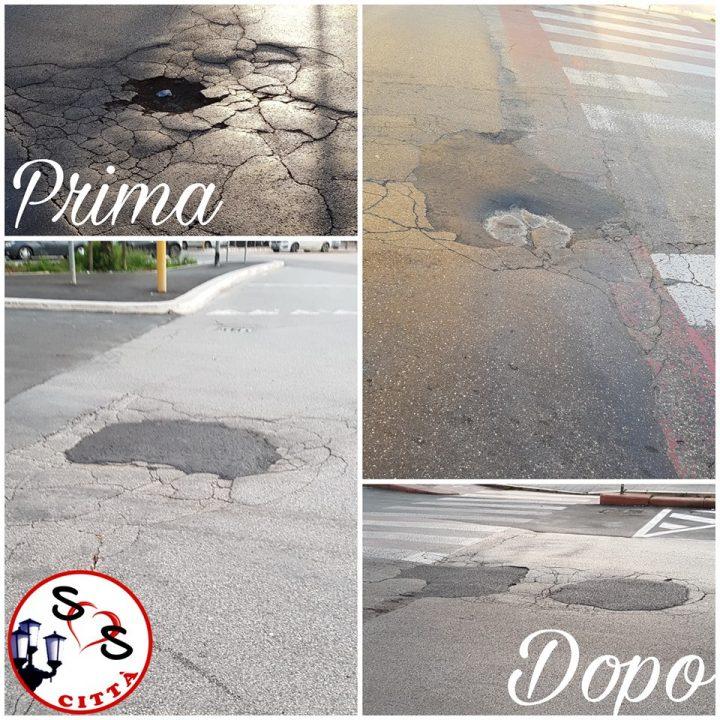 Interventi di manutenzione stradale