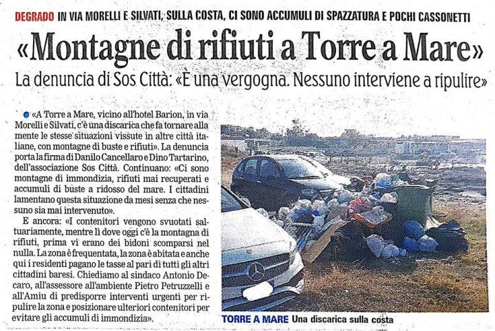 Gazzetta del Mezzogiorno del 07/07/2018