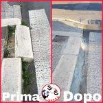 RISOLTO: Cordolo marciapiede in via Tridente