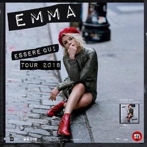 """EMMA a febbraio a Bari con il suo """"Essere Qui Tour"""""""