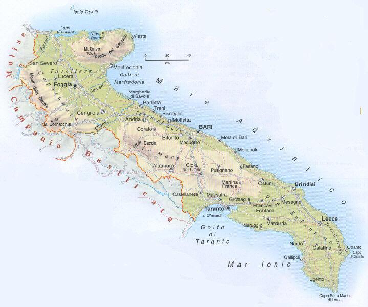 Cartina Puglia Fisica E Politica.Il Disastro Estivo Dell Alga Tossica Sos Citta