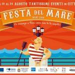 Festa del mare a Bari dal 10 al 24 agosto