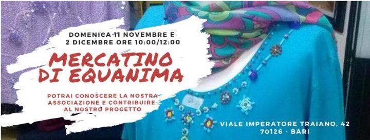 Equanina organizza il banco solidale dell'abbigliamento