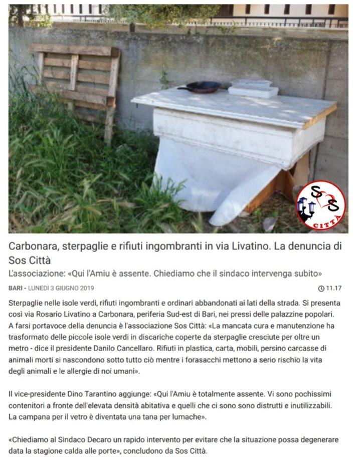 Rassegna stampa del 03/06/2019