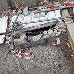 Pericolo in via Redi a Poggiofranco