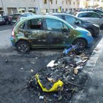 Vandali in azione in via Postiglione
