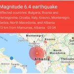 Terremoto in Albania: avvertito anche a Bari