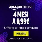 Con noi puoi avere Amazon Music Unlimited a soli 0,99 €!