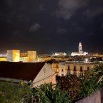 Bari vista dalla terrazza Murat
