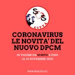 Novità DPCM 18 Ottobre