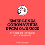DPCM 4 Novembre 2020: Tutte le nuove restrizioni!