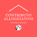 CONTRIBUTO ALLOGGIATIVO: come fare domanda e requisiti