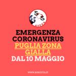 Puglia zona gialla: le nuove regole!