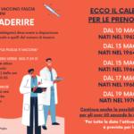 Adesione vaccini fascia 50-59 anni: ecco il calendario completo!