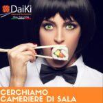SOS LAVORO: Daiki Japanese Restaurant cerca cameriere di sala
