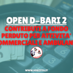 Open D_Bari 2: contributi a fondo perduto per attività commerciali e ambulanti