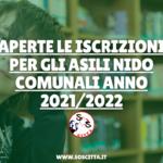 Asili nido comunali 2021/2022: termini e modalità di iscrizione