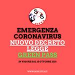 Nuovo decreto green pass: obbligo per tutti i lavoratori, pubblici e privati