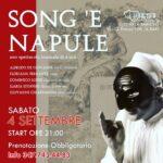 SONG E NAPULE: Reading musicale sabato 4 settembre!